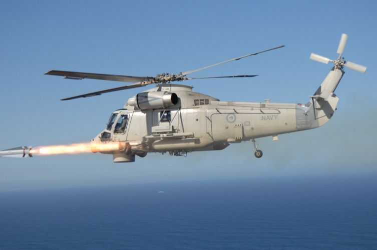Helicopter Aircraft Military Navy Missile Maverick-1 4000x2656 wallpaper