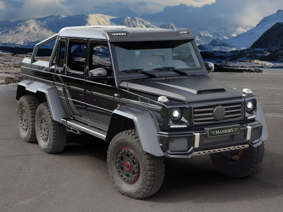 Mansory AMG Mercedes-Benz G-Class Tunning Off-Road Car Germany 6x6-2014 4000x3000 (2) wallpaper