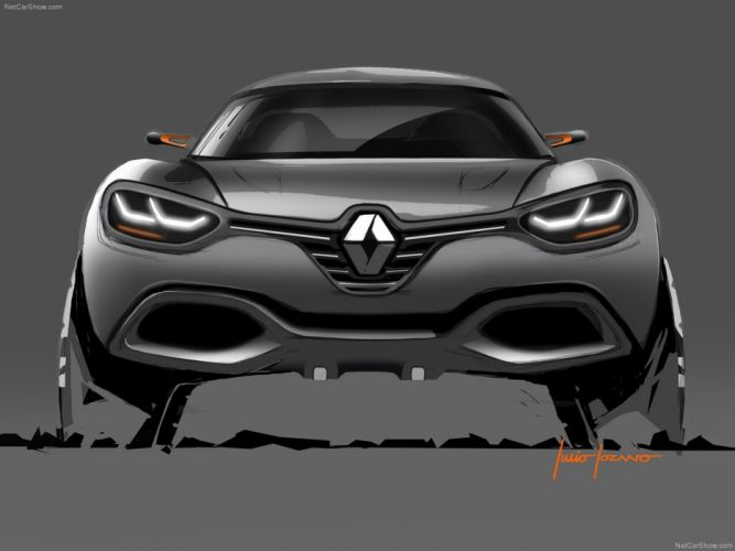 Renault Captur Car Concept 2011 France Wallpaper 4000x3000 (9) wallpaper