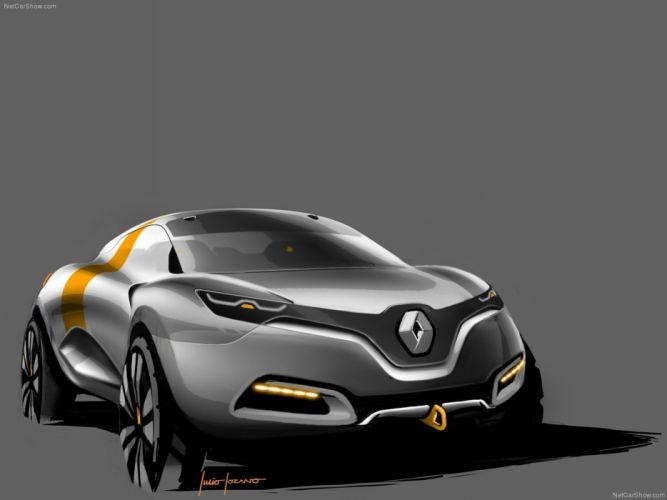 Renault Captur Car Concept 2011 France Wallpaper 4000x3000 (23) wallpaper
