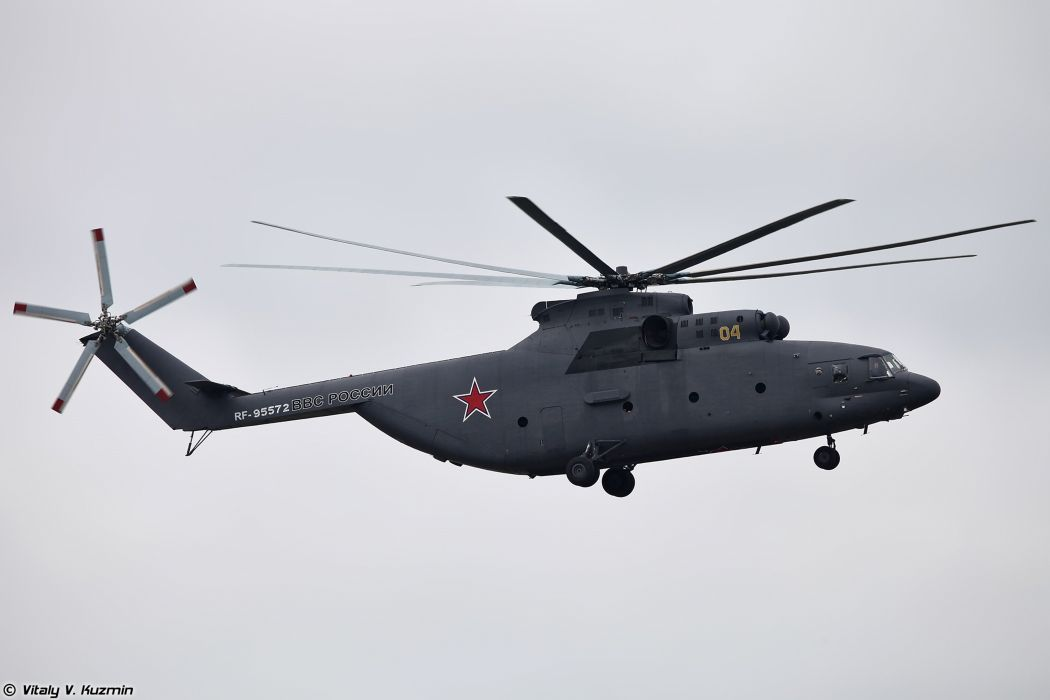 Russian Red Star Russia Helicopter Aircraft Military Army Transport Mil-Mi 4000x2667 wallpaper