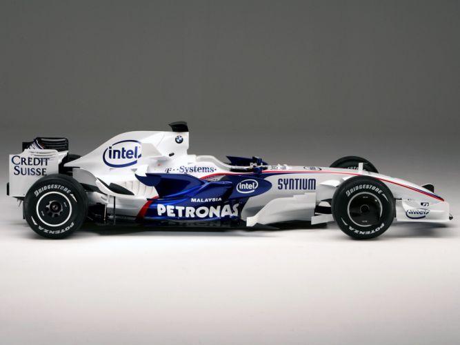 2008 Formula-1 BMW Sauber F1-08 Race Car Racing 4000x3000 (3) wallpaper