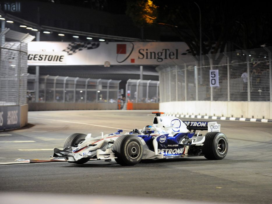 2008 Formula-1 BMW Sauber F1-08 Race Car Racing 4000x3000 (5) wallpaper