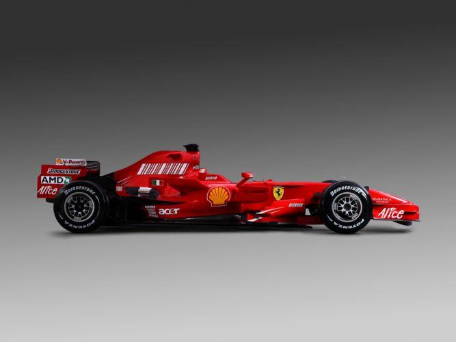 2008 Formula-1 Ferrari F2008 Race Car Racing 4000x3000 (2) wallpaper