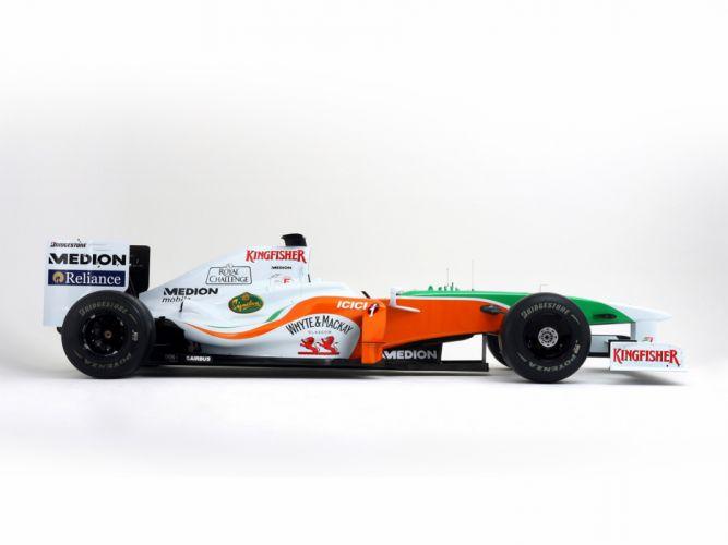 2009 Formula-1 Force-India VJM02 Race Car Racing 4000x3000 (2) wallpaper