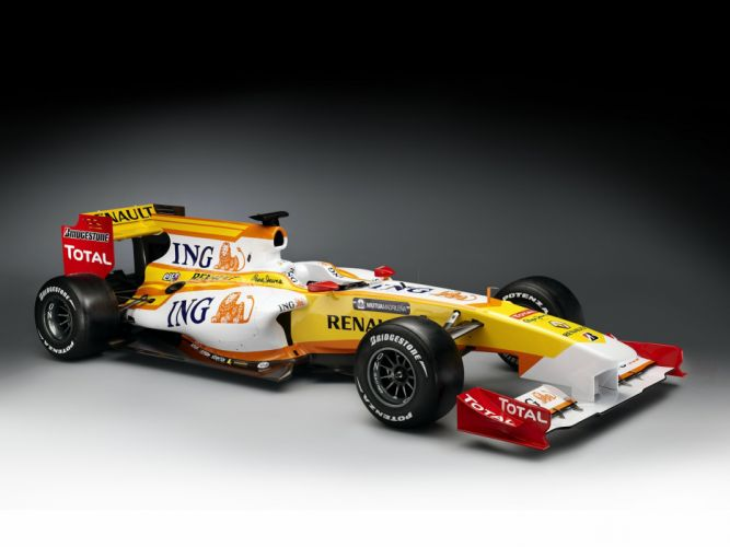 2009 Formula-1 Renault R29 Race Car Racing 4000x3000 wallpaper