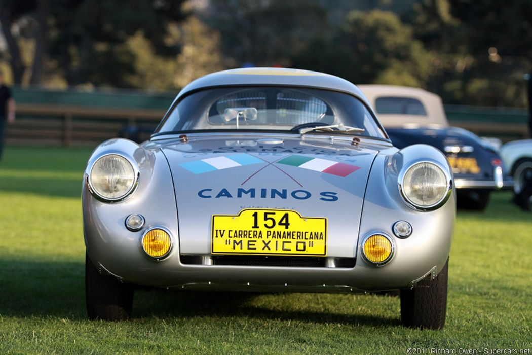 Race Car Classic Racing Porsche Carrera Panamericana Silver 2667x1779 wallpaper