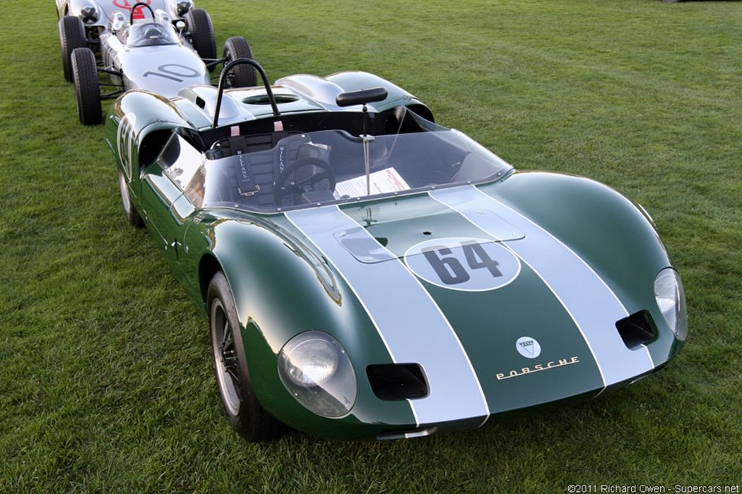 Race Car Classic Racing Porsche Green 2667x1779 wallpaper