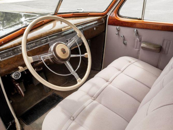 1939 Cadillac Series-90 V16 7-passenger Sedan Fleetwood (39-9023) luxury retro interior o wallpaper