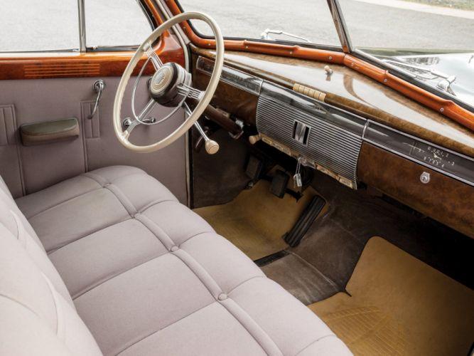 1939 Cadillac Series-90 V16 7-passenger Sedan Fleetwood (39-9023) luxury retro interior h wallpaper