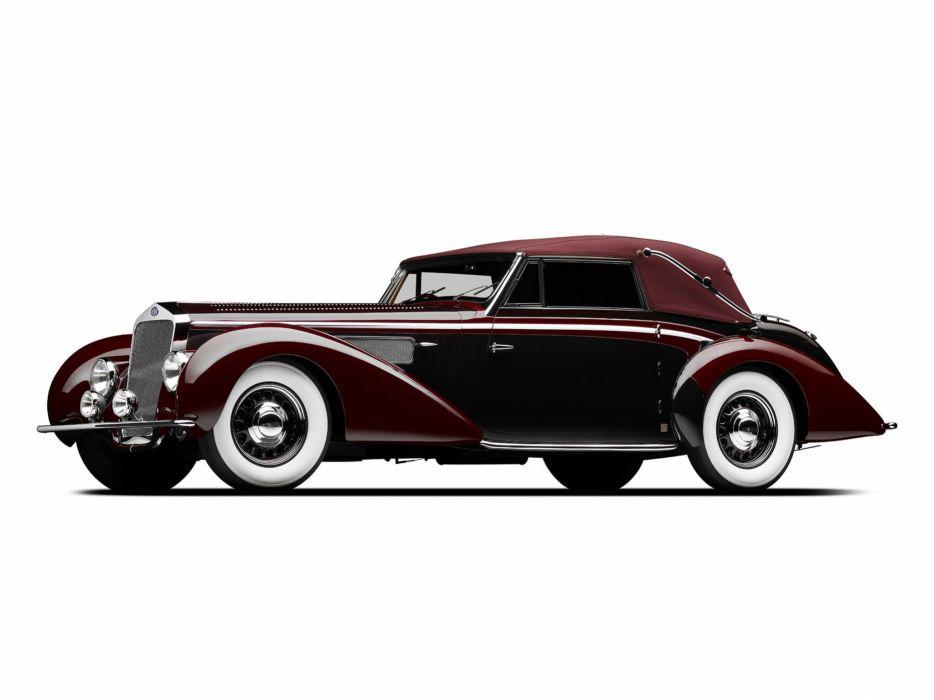 1939 Delage D-8 120 Cabriolet Chapron luxury retro    g wallpaper