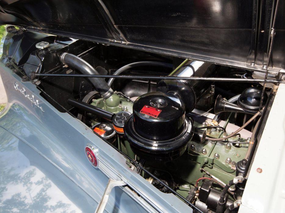 1941 Packard 180 Custom Super Eight Sport Brougham LeBaron (1907-1452) retro luxury engine    hf wallpaper