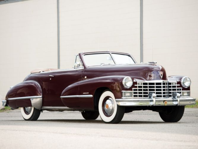 1946 Cadillac Sixty Two Convertible (6267D) retro luxury h wallpaper
