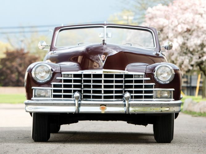 1946 Cadillac Sixty Two Convertible (6267D) retro luxury r wallpaper
