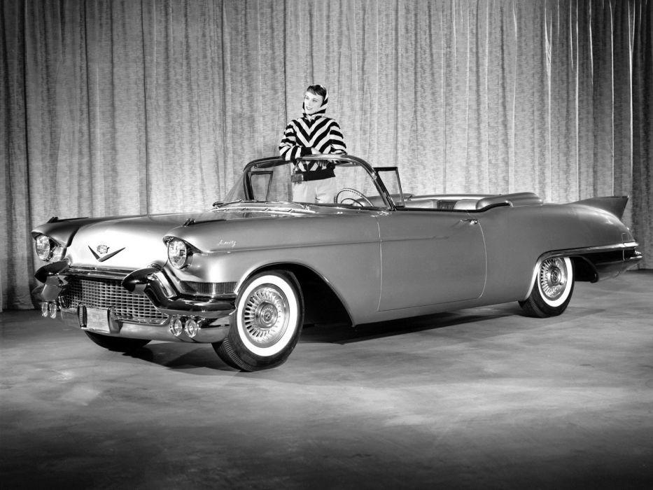 1957 Cadillac Sixty Two Eldorado Special Biarritz (57-6267SX) luxury retro   r wallpaper