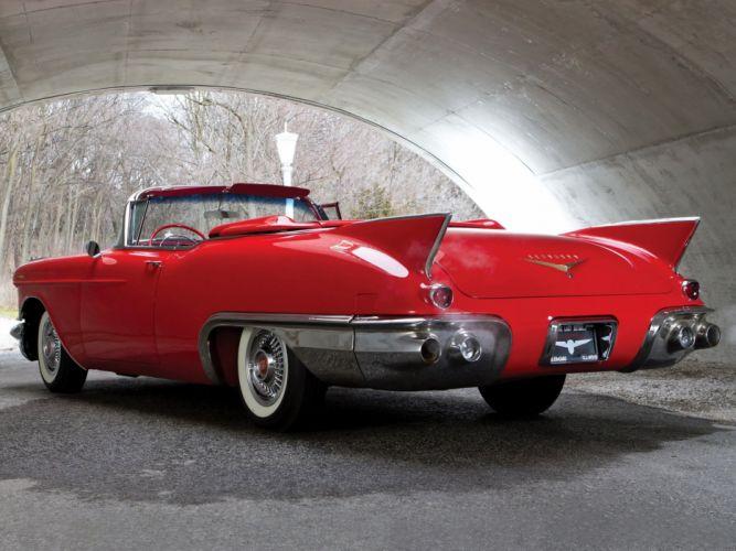 1957 Cadillac Sixty Two Eldorado Special Biarritz (57-6267SX) luxury retro kh wallpaper