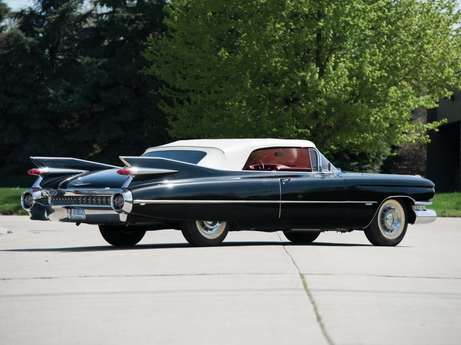1959 Cadillac Sixty Two Convertible retro luxury ge wallpaper