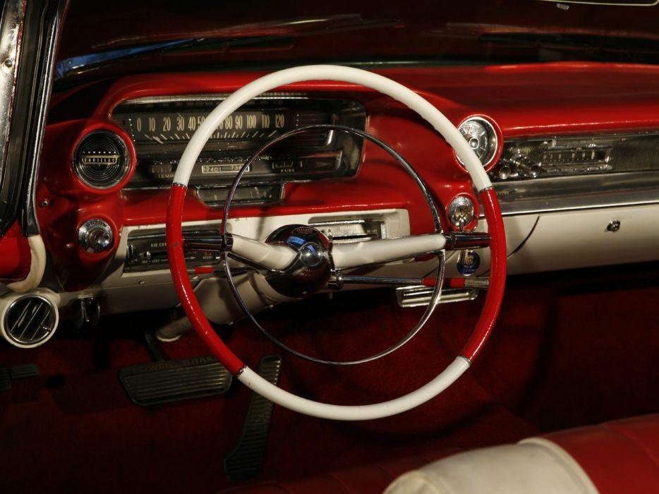 1959 Cadillac Sixty Two Convertible retro luxury interior  g wallpaper