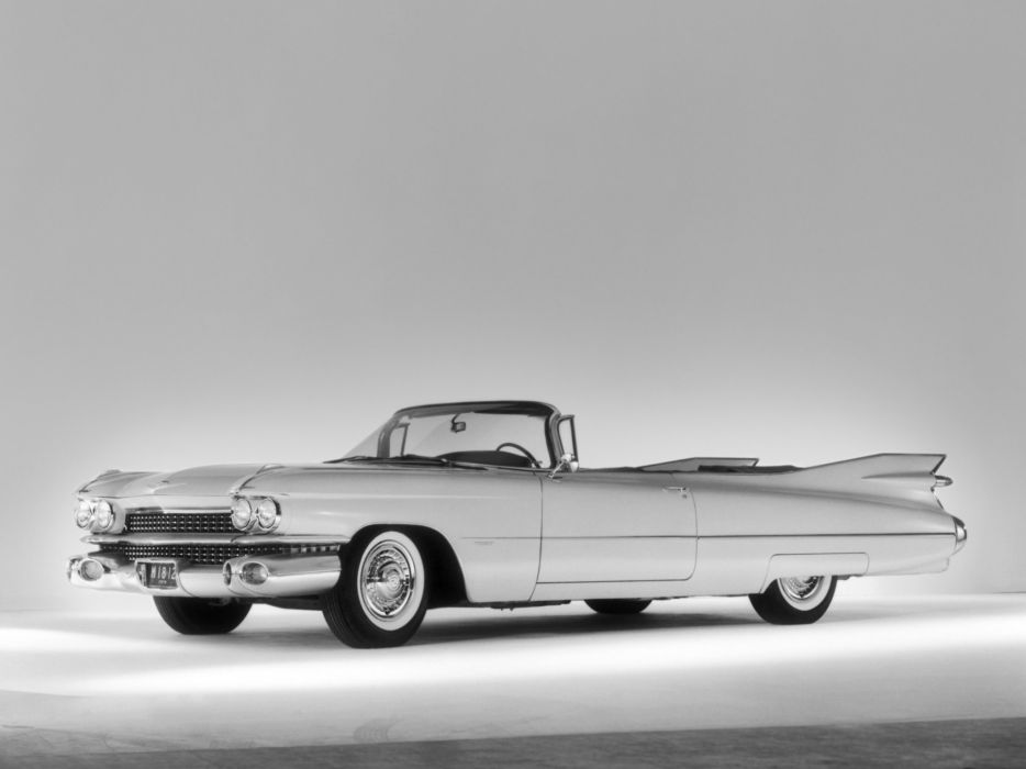 1959 Cadillac Sixty Two Convertible retro luxury   g wallpaper