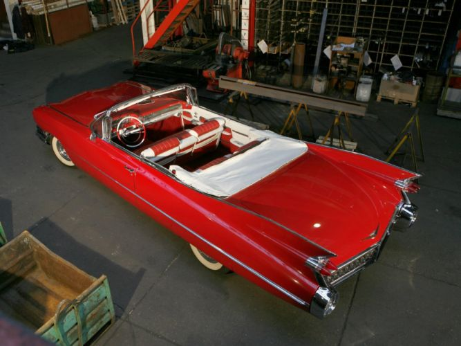 1959 Cadillac Sixty Two Convertible retro luxury f wallpaper