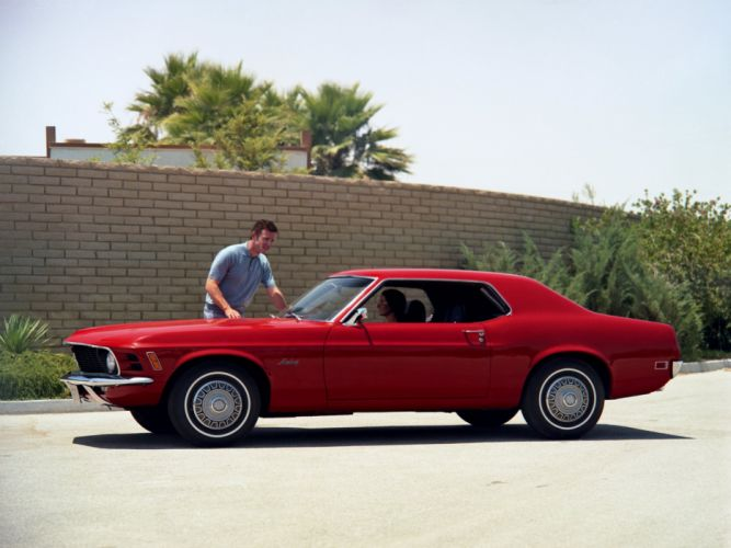 1970 Ford Mustang Coupe muscle classic h wallpaper