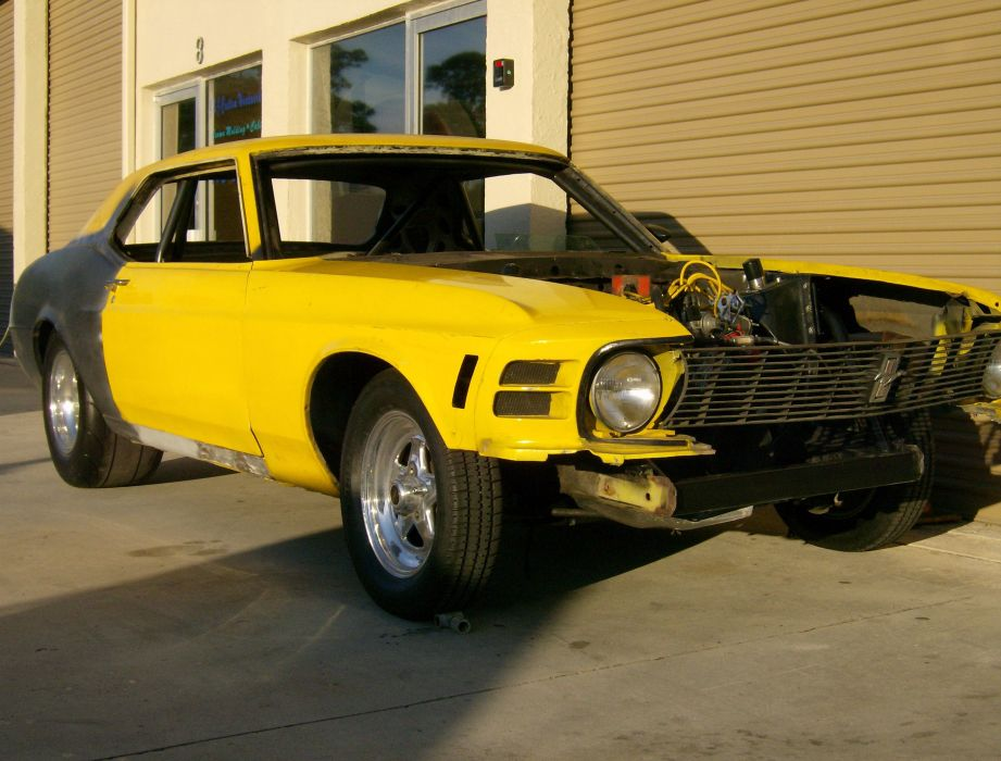 1970 Ford Mustang Coupe muscle classic hot rod rods   f_JPG wallpaper