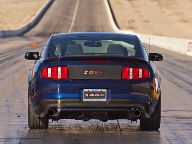 2012 Ford Mustang Shelby 1000 muscle h wallpaper