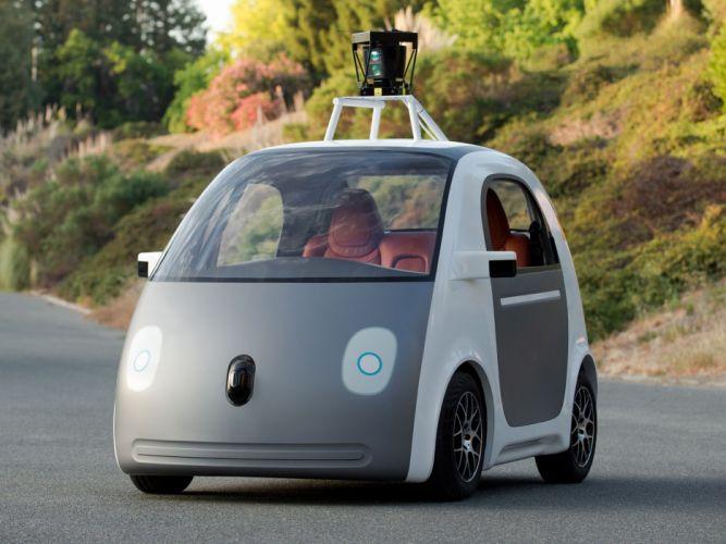 2014 Google Self-driving Car computer concept internet sci-fi g wallpaper