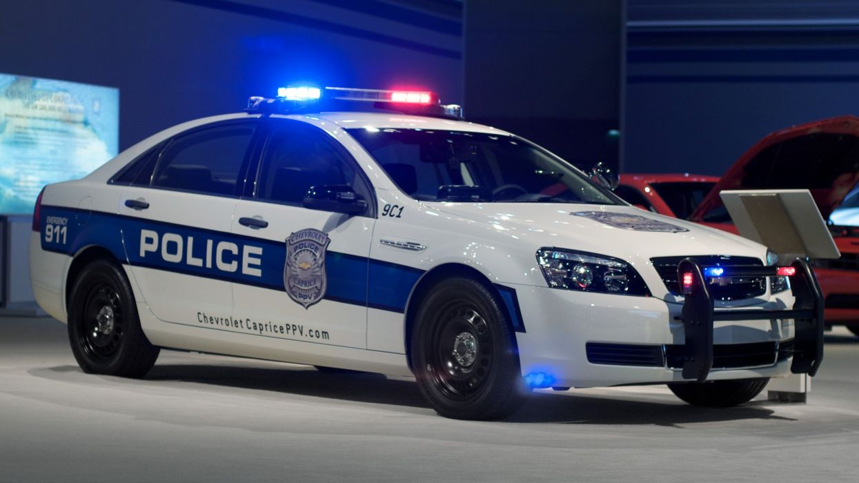 Chevrolet Caprice Classic Police emergency muscle  h wallpaper