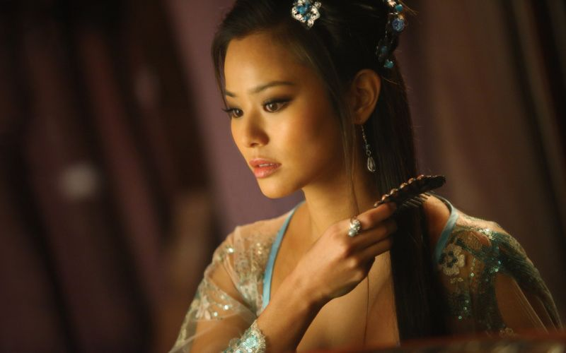 JAMIE CHUNG asian actress television babe iron fist martial arts action drama wallpaper