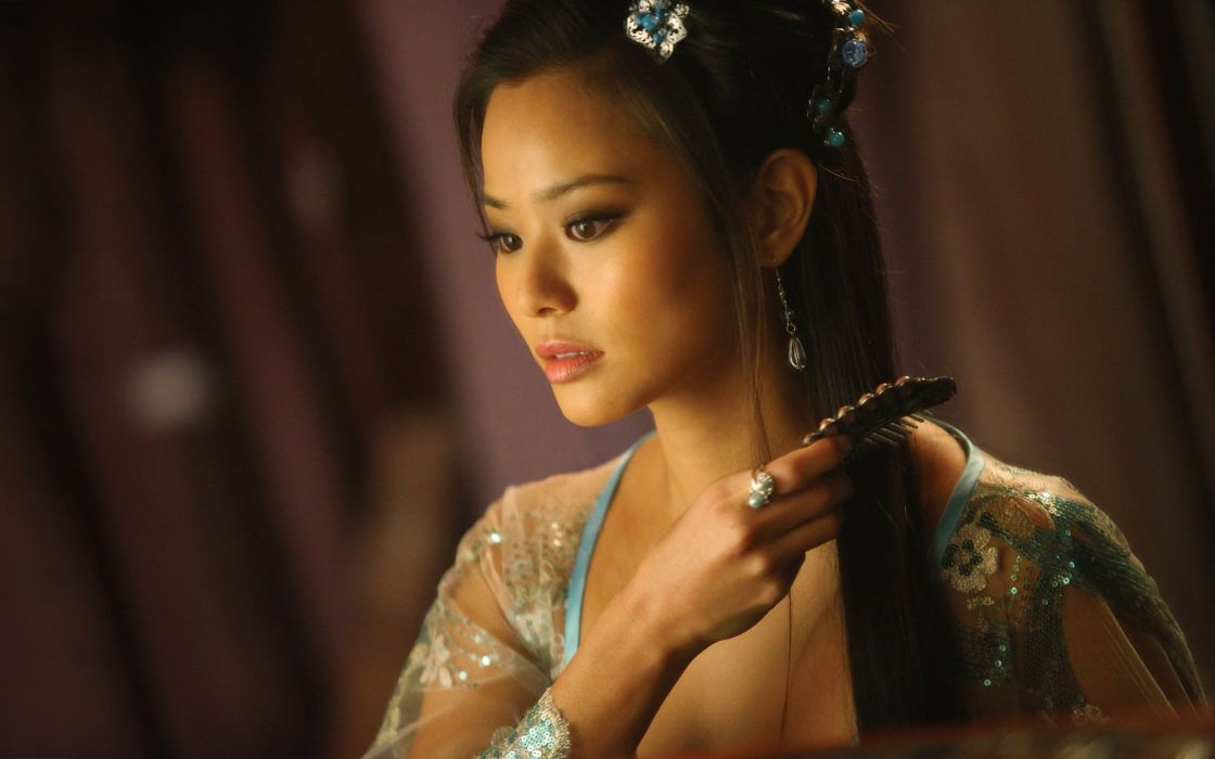 JAMIE CHUNG asian actress television babe iron fist martial arts action drama wallpaper