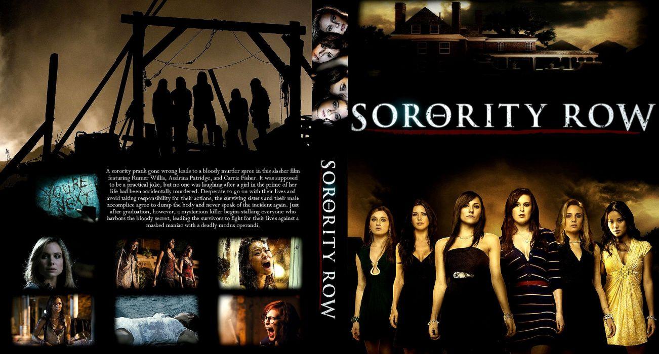 SORORITY ROW horror thriller dark babe (5) wallpaper