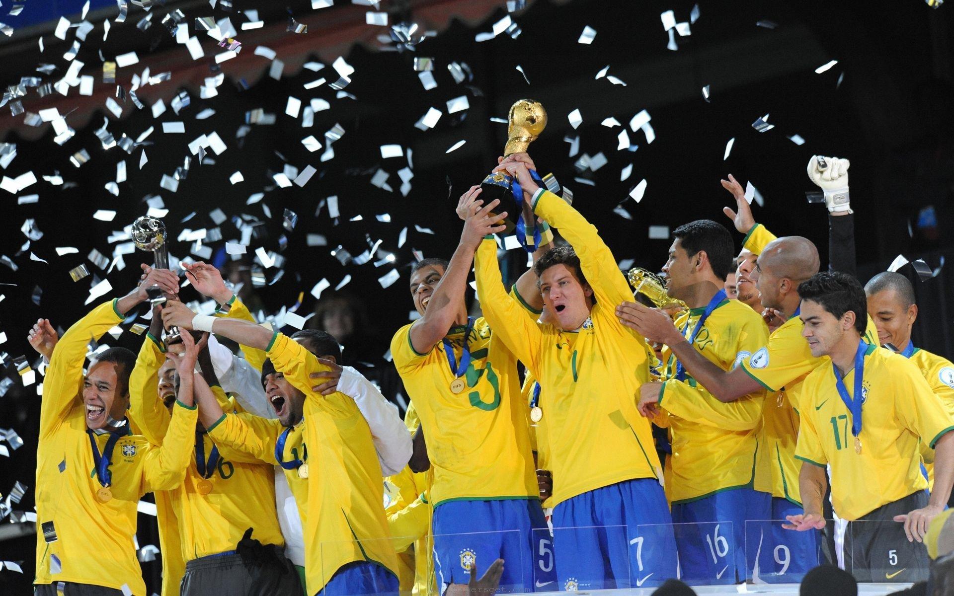 Brazil Soccer Team Wallpaper: FIFA WORLD CUP Brazil Soccer (60) Wallpaper