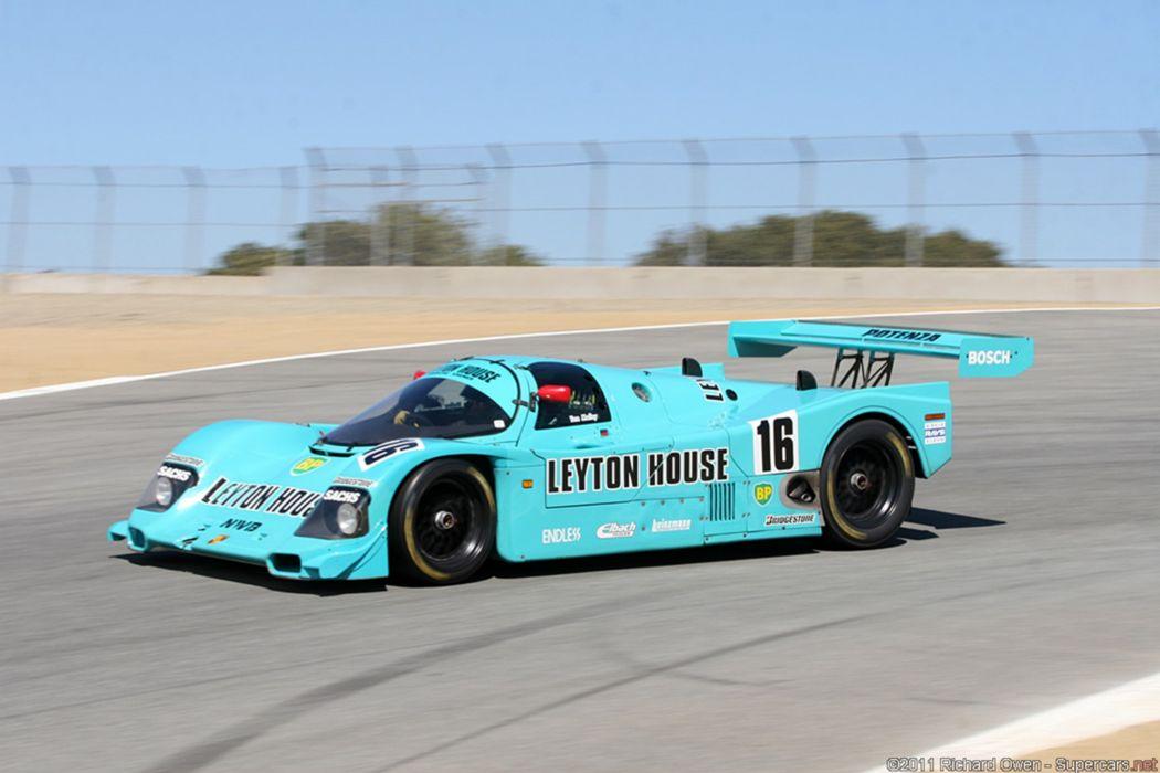 Race Car Classic Racing Porsche Leyton House Le-Mans LMP1 2667x1779 wallpaper