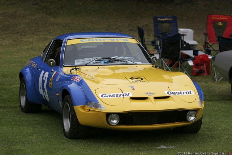 Race Car Classic Racing Opel Opel-GT 2667x1779 wallpaper