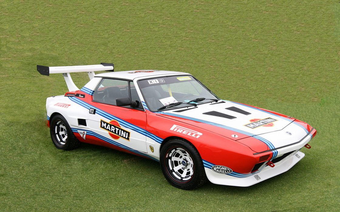 Race Car Classic Racing Fiat X 19 Martini 2667x1779 Wallpaper