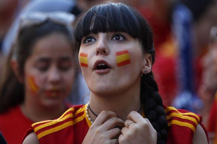 SPAIN soccer cheerleader babe wallpaper