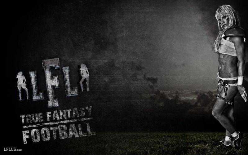 LFL football legends sexy babe cheerleader (11) wallpaper