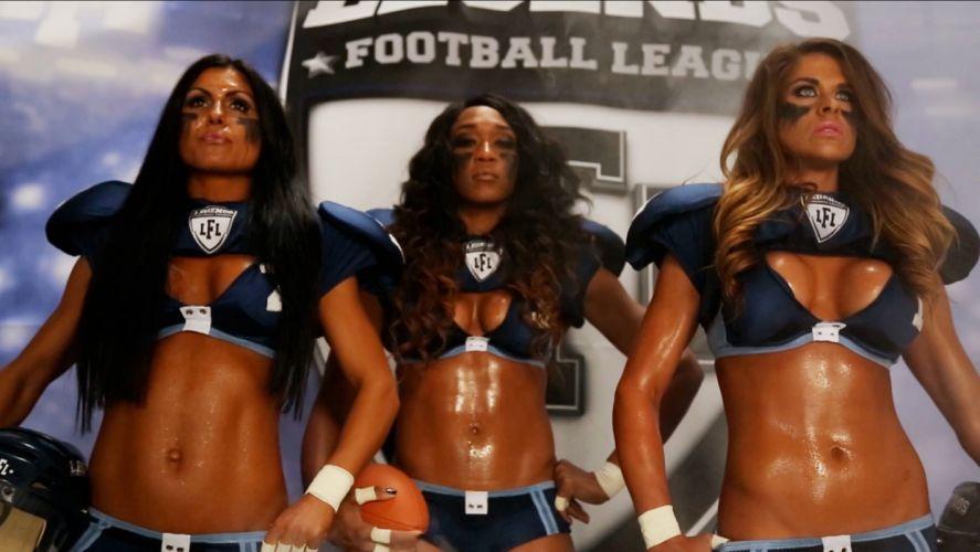LFL football legends sexy babe cheerleader (26) wallpaper