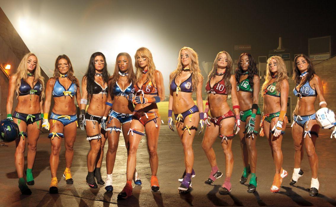 LFL football legends sexy babe cheerleader (36) wallpaper