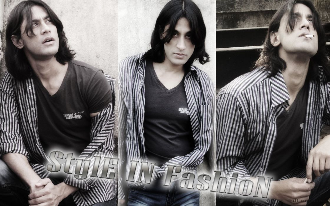 Male Model Rajkumar Patra style in fashion 2014 by df creation wallpaper