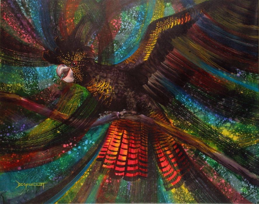 COCKATOO parrot bird tropical (73)_JPG wallpaper