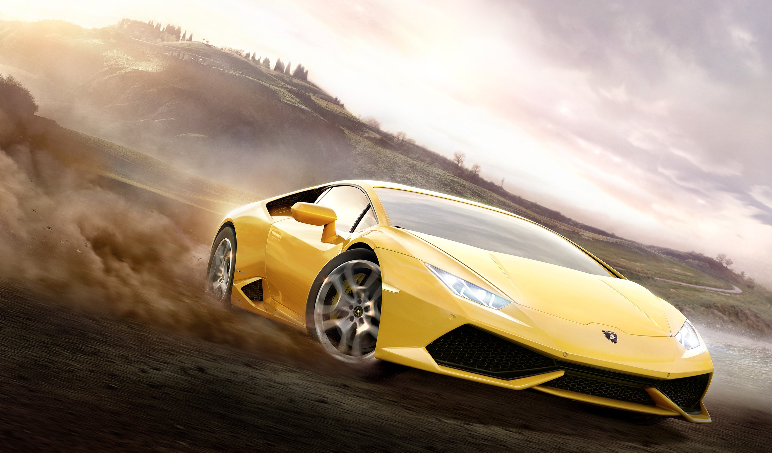 LamborghiniHuracanLP6104 ForzaHorizon2 wallpaper