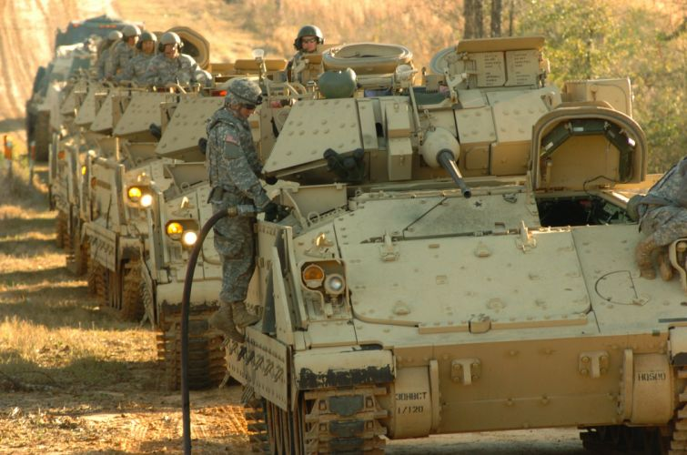 BRADLEY FIGHTING VEHICLE (bfv) apc tank tanks transport weapon military (1) wallpaper