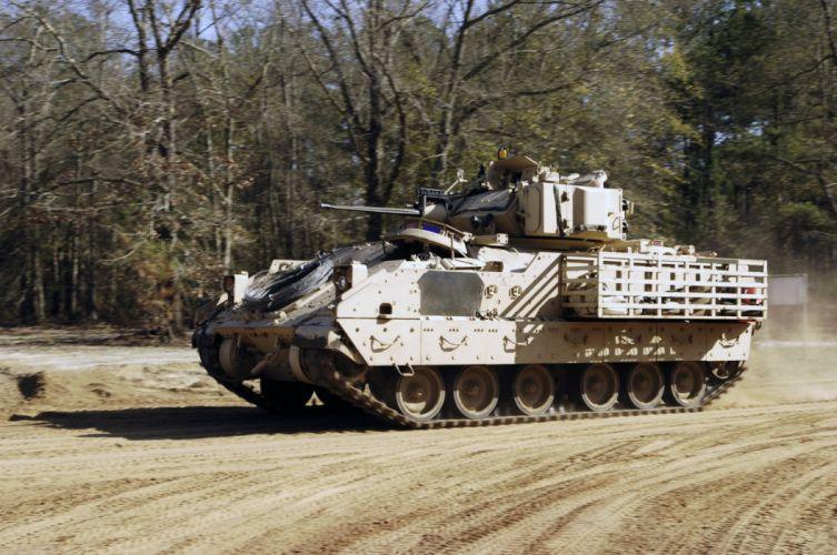 BRADLEY FIGHTING VEHICLE (bfv) apc tank tanks transport weapon military (6) wallpaper
