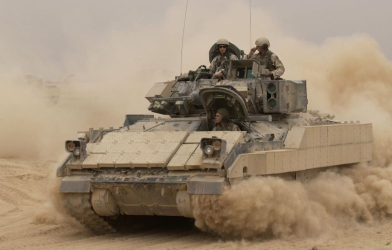 BRADLEY FIGHTING VEHICLE (bfv) apc tank tanks transport weapon military (9) wallpaper