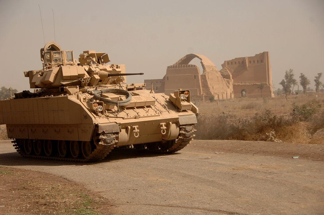 BRADLEY FIGHTING VEHICLE (bfv) apc tank tanks transport weapon military (21) wallpaper