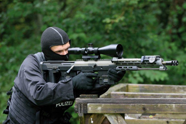 DSR Precision DSR-50 sniper rifle weapon gun military police (5) wallpaper