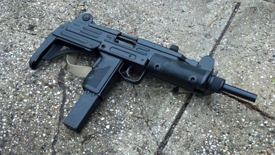 UZI machine gun weapon military police assault pistol (6) wallpaper