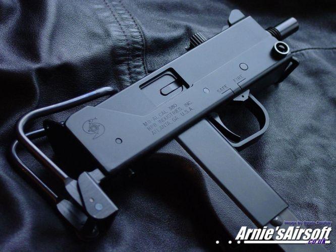 UZI machine gun weapon military police assault pistol (8) wallpaper